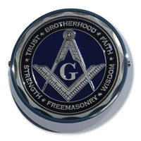 MotorDog69 Universal Coin Mount with Masonic Coin