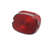 LED Laydown Taillight with Red Lens