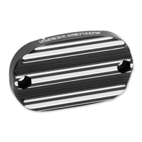 Arlen Ness Black 10-Guage Rear Master Cylinder Cover