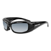 Black Brand Lowdown Gloss Black Sunglasses with Interchangeable Lens