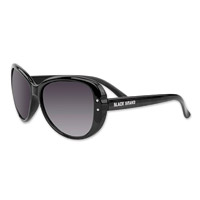 Black Brand Calypso Gloss Black Sunglasses with Smoke Lens