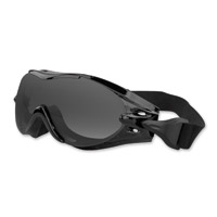 Black Brand Veteran Gloss Black Goggles with Interchangeable Lens