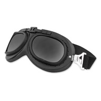 Black Brand Gearhead Gloss Black Goggles with Interchangeable Lens