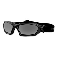 Black Brand Rocket Matte Black Goggles with Interchangeable Lens