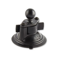 Ram Mount 3.3″ Suction Cup Base with 1″ Ball