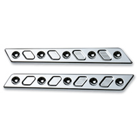 Joker Machine Chrome Techno Saddlebag Latch Insert
