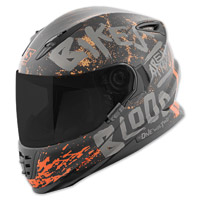 Speed and Strength SS1310 Bikes Are In My Blood Matte Black/Gray Full Face Helmet