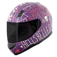 Speed and Strength SS700 Hell′s Belles Matte Purple Full Face Helmet