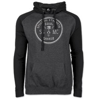 Speed and Strength Men's Soul Shaker Black/Gray Hoodie