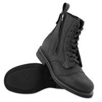 Speed and Strength Men's Bikes Are In My Blood Black Leather Boots