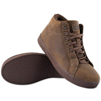 Speed and Strength Men's Soul Shaker Brown Moto Shoes