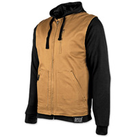 Speed and Strength Men's Bikes Are In My Blood Brown/Black Vest/Hoodie