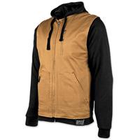 Speed and Strength Men's Bikes Are In My Blood Brown/Black Vest/Hoodie