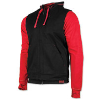 Speed and Strength Men's Bikes Are In My Blood Red/Black Vest/Hoodie