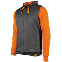 Speed and Strength Men's Bikes Are In My Blood Orange/Black Vest/Hoodie