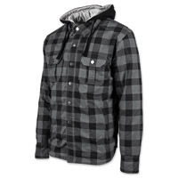 Speed and Strength Men's Standard Supply Black/Charcoal Moto Jacket
