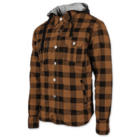Speed and Strength Men's Standard Supply Brown/Black Moto Jacket