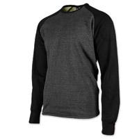 Speed and Strength Men's Soul Shaker Charcoal/Black Moto Shirt