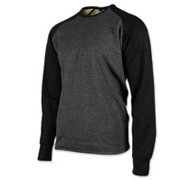 Speed and Strength Men's Soul Shaker Charcoal/Black Moto Shirt