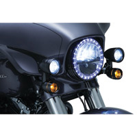 Kuryakyn Gloss Black Driving Lights