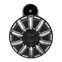 Arlen Ness Black 10-Gauge Horn with Cover