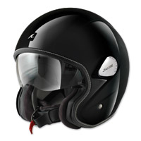 Shark Heritage Gloss Black Open Face Helmet