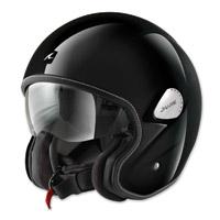 Shark Heritage Gloss Black Open Face Helmet