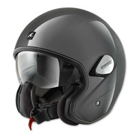 Shark Heritage Silver Open Face Helmet