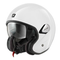 Shark Heritage White Open Face Helmet