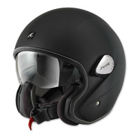 Shark Heritage Matte Black Open Face Helmet