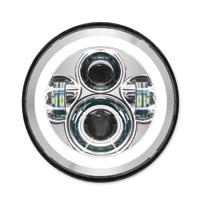 HogWorkz 7″ LED Chrome HaloMaker Headlight Kit