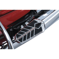 Kuryakyn Spear Chrome Passenger Floorboard Inserts