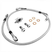 Twin Power Stainless Rear D.O.T. Brake Line Kit