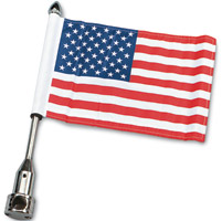 Pro Pad Saddlebag Bar Mount with 6″ x 9″ Flag