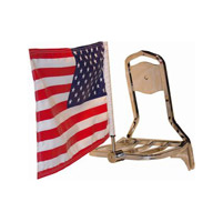 Pro Pad Square Rack Mount with 10″ x 15″ Parade Flag