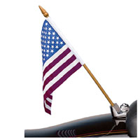 J&P Cycles® Seat Hold Down and Universal Flag Holder