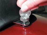 J&P Cycles® Quarter Turn Seat Screw