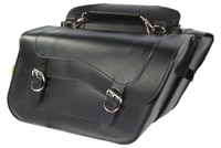 Willie & Max Standard High Pipe Slant Saddlebag
