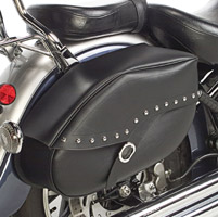 Willie & Max Studded Revolution Hard Mount Saddlebag - Large
