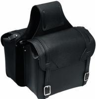 Carroll Leather Plain Large Saddlebags