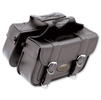 All American Rider Slant Flap-Over Saddlebags