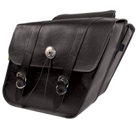 Willie & Max Deluxe Collection Slant Saddlebags
