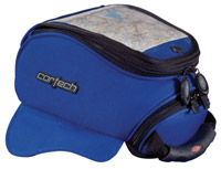 Cortech Super Mini Blue Strap Mount Tank Bag