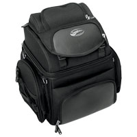 Saddlemen BR1800 Backrest, Seat and Sissybar Bag