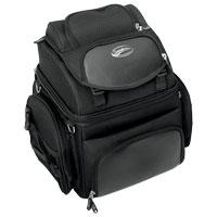 Saddlemen BR1800 Backrest, Seat and Sissybar Bag