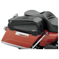 Saddlemen Storage Bags with Lid Covers for Touring Models