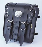Willie & Max Warrior Collection Studded Sissy Bar Bag