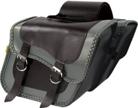 Willie & Max Gray Thunder Saddlebag