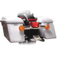 Sumax +2-1/2″ Hard Saddlebags for Softails with Light Mounting Holes