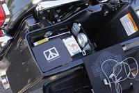 Top Shelf Hard Bag Motorcycle Organizer